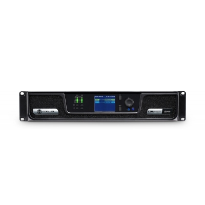 Crown CDI Series 300W per output channel ,Analog input, 2 channels,  (pieza)Negro