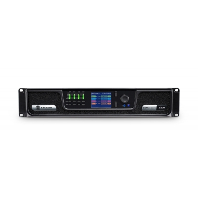 Crown CDI Series 300W per output channel Analog input, 4 channels, (pieza)Negro