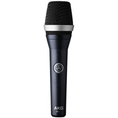 AKG  Professional dynamic cardioid vocal microphone (pieza) Negro