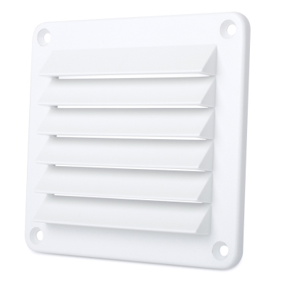 Cool Components Plastic Grilles Size 4'' x 5'' (pieza) Blanco